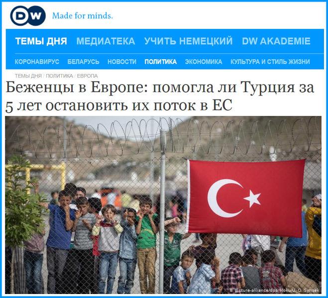 Турция и беженцы