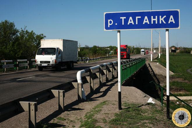 Мост через реку Таганку