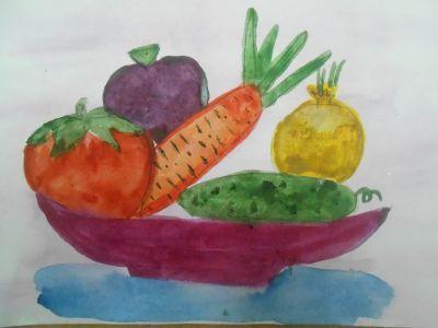Как нарисовать пикник на природе