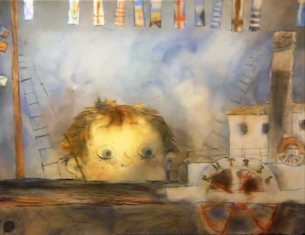 """Какой рисунок нарисовать к рассказу Житкова """"Как я ловил человечков""""?"""