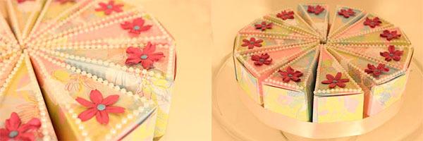 торт из бумаги