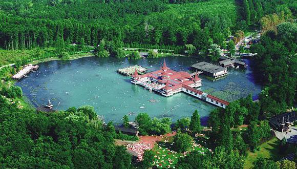 Озеро в Венгрии