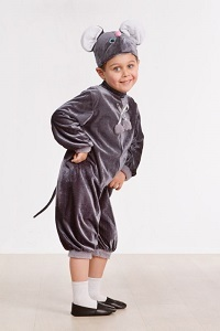 Новогодний костюм мышки