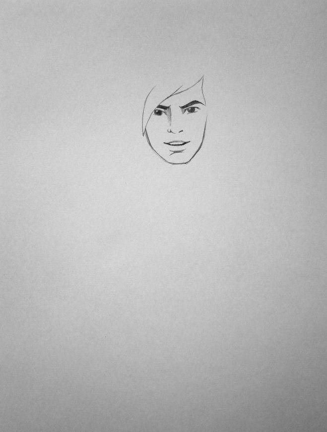 Как нарисовать Маугли карандашом поэтапно?