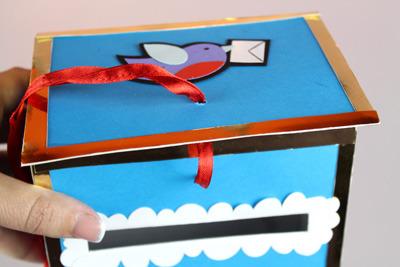 Как сделать коробку для писем своими руками 104