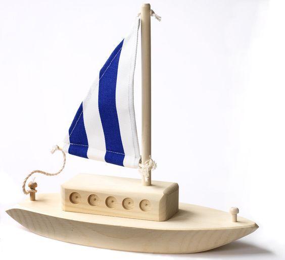 Игрушечные кораблики из дерева своими руками 39