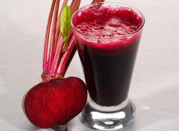 Свекольный сок и яблочный сок