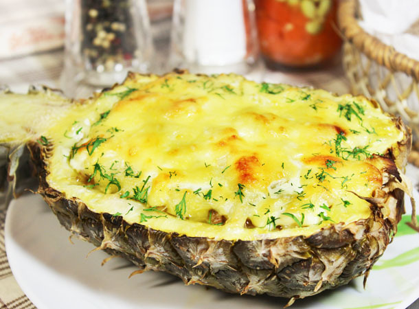 Рецепты фаршированные ананасы