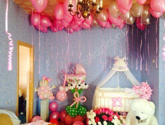 Как украсить комнату для беременных 47