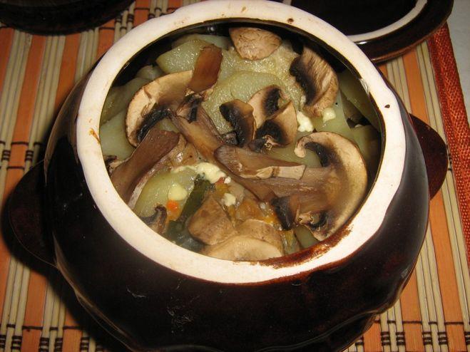 еда с грибами рецепты с фото
