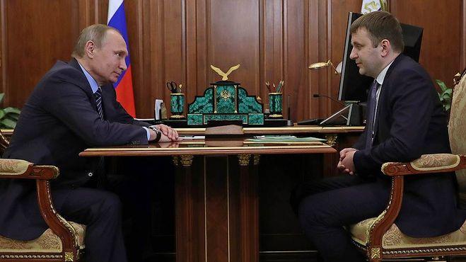 Максим Орешкин фаворит Путина