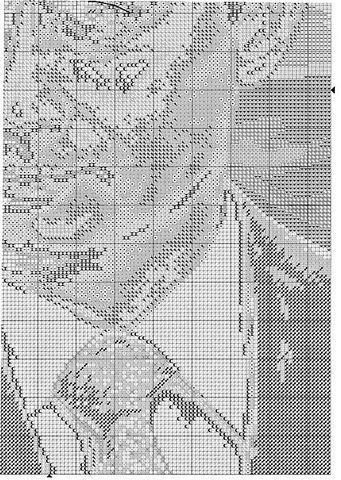 портрет Путина крестиком схема4