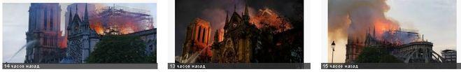 пожар в Соборе Парижской Богоматери, какие ценности сгорели в Нотр дамм де Пари