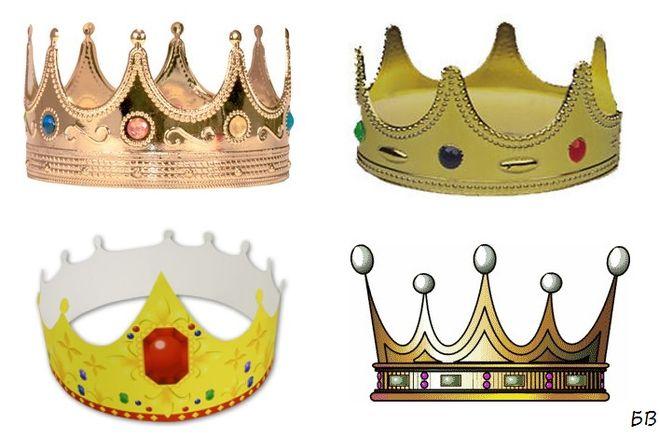 Сделать корону короля своими руками
