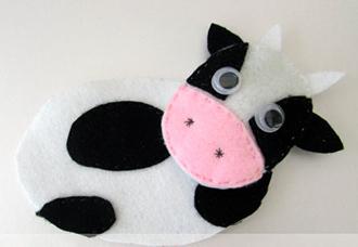 корова из флиса мастер класс