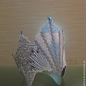 Как сделать корону снежной королевы своими руками из