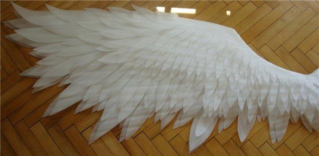 Как сделать крылья ангела своими руками (только инструкции с видео)?