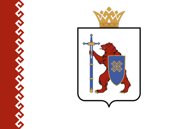 Флаг республики Мэрий Эл