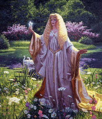 Лесная царевна из «Властелина колец» англичанина Джона Толкиена   Кроссворды, Сканворды