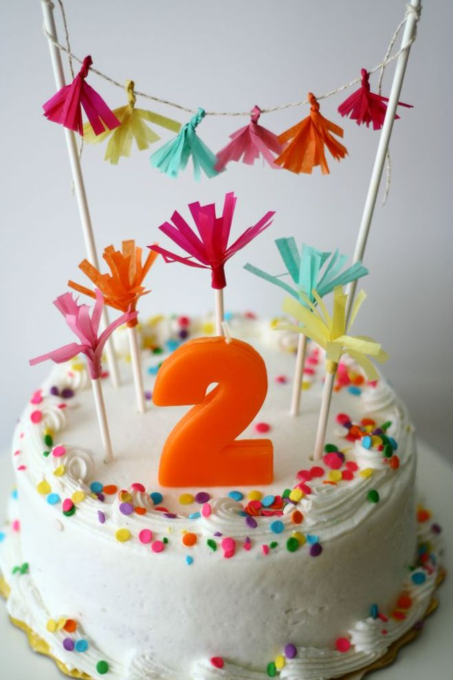 Сделать топпер на торт своими руками