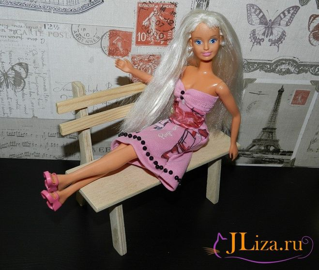 платье для Барби своими руками