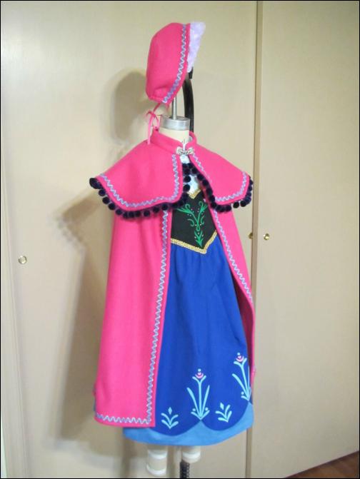 Ледяной костюм Эльзы из «Холодного сердца как сшить 89
