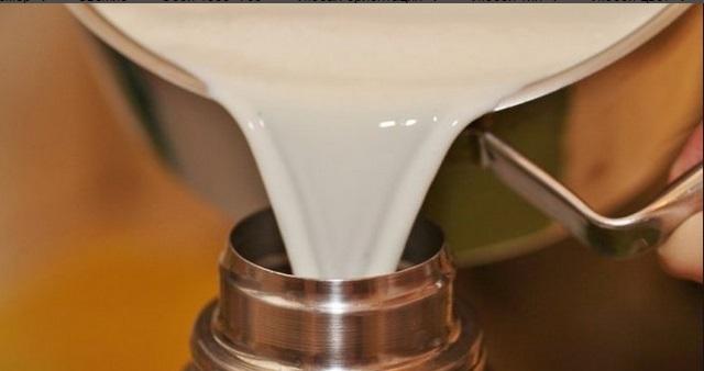 топлёного молоко в термосе отдых любой вкус