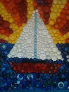 поделки с крышками пластиковых бутылок своими руками
