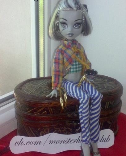 Выкройки для кукол монстер хай своими руками