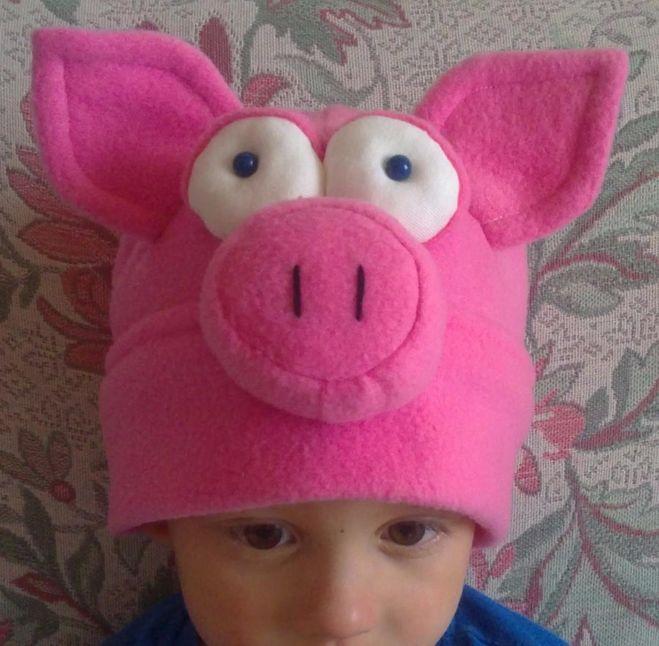 аксессуары к костюму свиньи