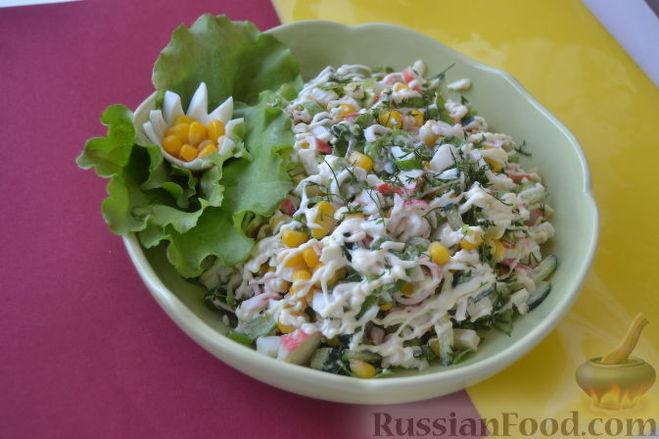 рецепты салатов из огурцов и яйца