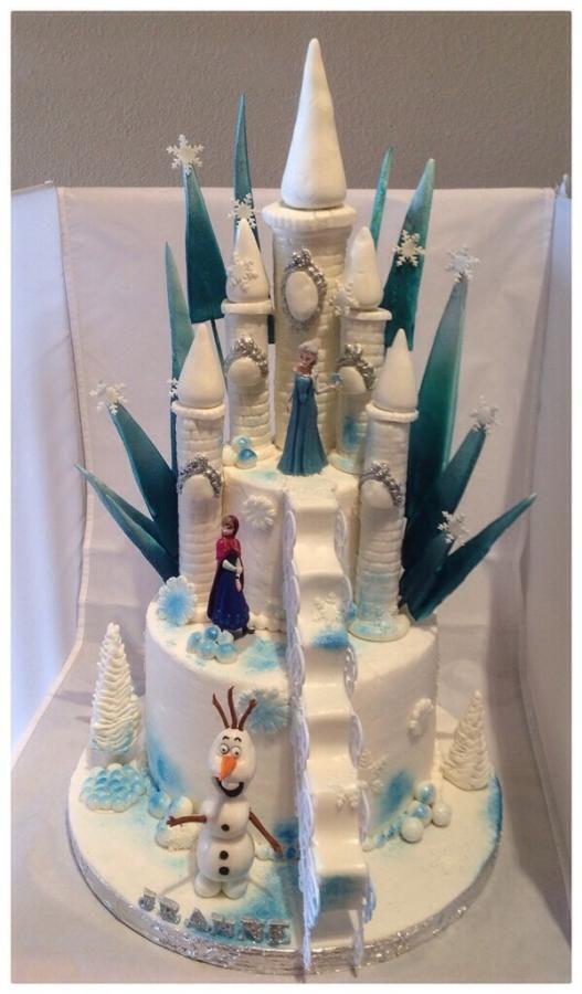 Как сделать торт с королевой Эльзой, Анной из мастики, украсить празднично?
